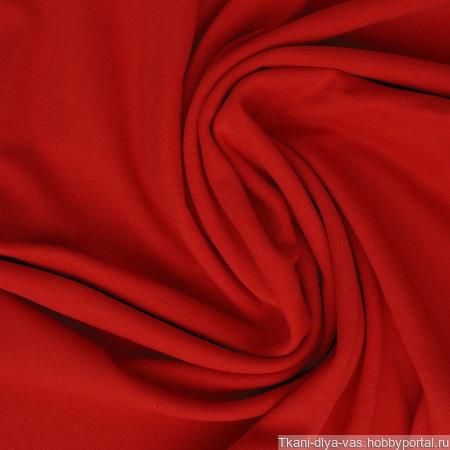 Рибана с лайкрой цвет красный ручной работы на заказ