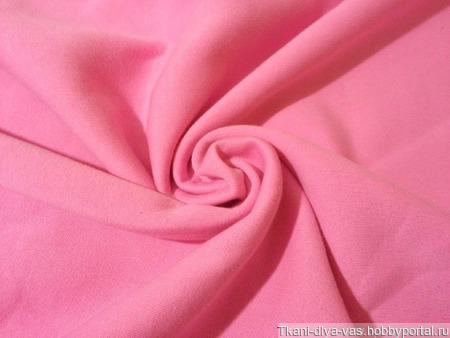 Футер 2-х нитка с начесом розовый ручной работы на заказ