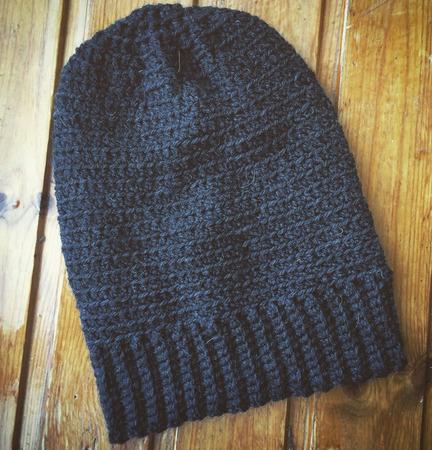 Вязаная шапка-чулок ручной работы на заказ