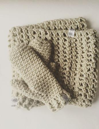 Теплый шарф-снуд ручной работы на заказ