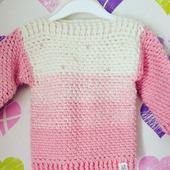 Детский свитерок с градиентом