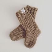 Детские носочки из верблюжьей шерсти