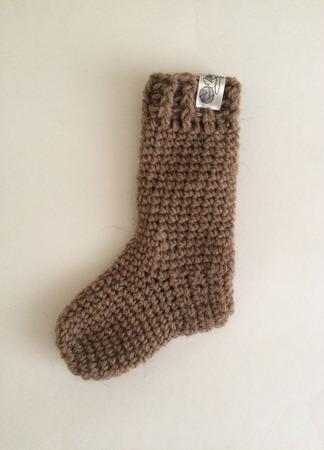 Детские носочки из верблюжьей шерсти ручной работы на заказ