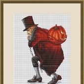 """Схема для вышивания """"Хеллоуин"""""""