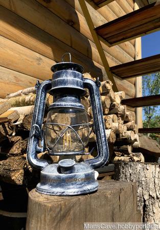 Электрическая керосиновая лампа ретро ручной работы на заказ