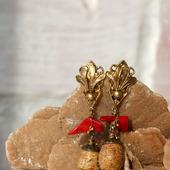 Серьги с песчаной яшмой «Кенлех»