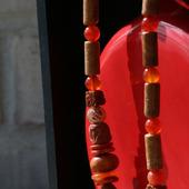 Чокер в этническом стиле «Рыжий»