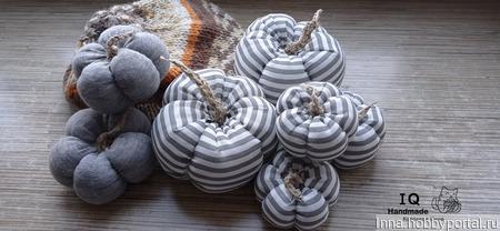 Текстильные тыквы ручной работы на заказ