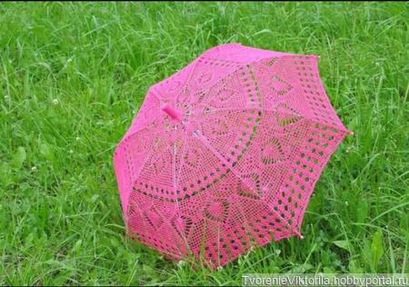 Свадебный зонтик ручной работы на заказ