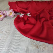 Шёлк Армани рубиново-красный
