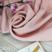 """Плательная ткань креп-стрейч """"Цея"""" розовый кварц"""