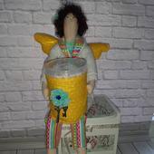 Хранительница ватных палочек - Тильда