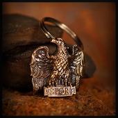 """Брелок """"Орел Цезаря"""" для темляков или браслетов , бронза"""