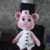 Хрюша медсестра