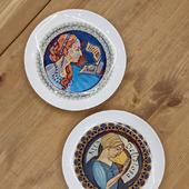 Тарелки с портретом на заказ
