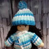 Французская текстильная кукла