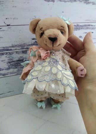 Медвежонок Мия ручной работы на заказ