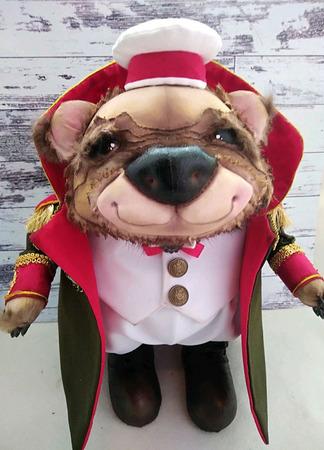 Медведь Кутузов ручной работы на заказ