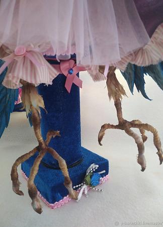 Синяя Птица Удачи ручной работы на заказ