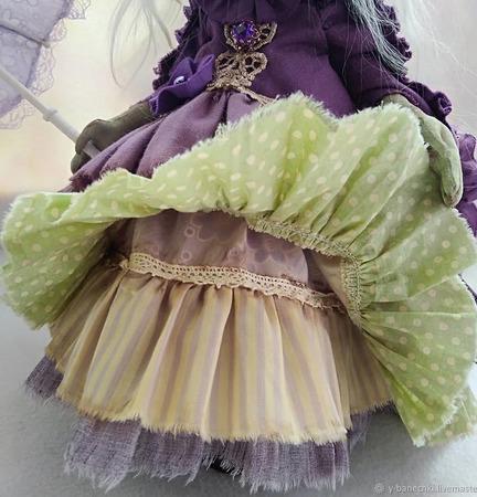 Бастинда - Повелительница Фиолетовой Страны ручной работы на заказ