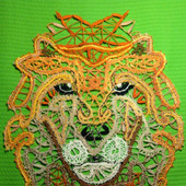 Лев кружевной