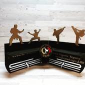 Угловая Медальница Карате