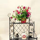 Этажерка для цветов кованая