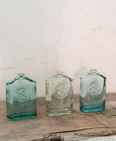 Бутылочки флаконы от парфюма для декора ручной работы на заказ