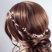 Свадебный ободок для волос С036