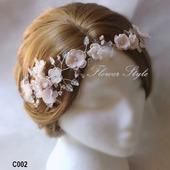 Свадебное украшение для волос С002