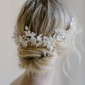 Украшения в прическу невесты С046