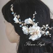 Свадебное украшение для волос С004