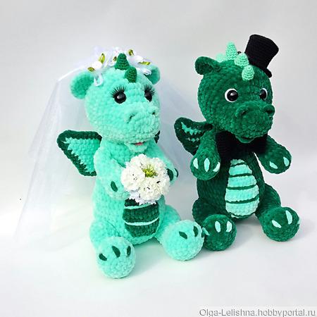 Свадебная пара ручной работы на заказ