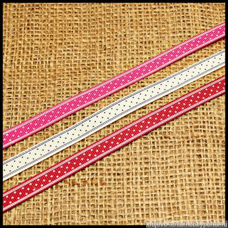 Тесьма репсовая многоцветная ручной работы на заказ