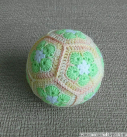Вязаный мячик - ручная работа ручной работы на заказ