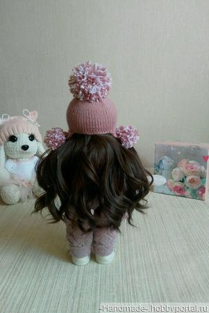 Интерьерная текстильная кукла - ручная работа ручной работы на заказ