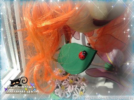 """Интерьерная кукла """"Живой цветочек"""" ручной работы на заказ"""