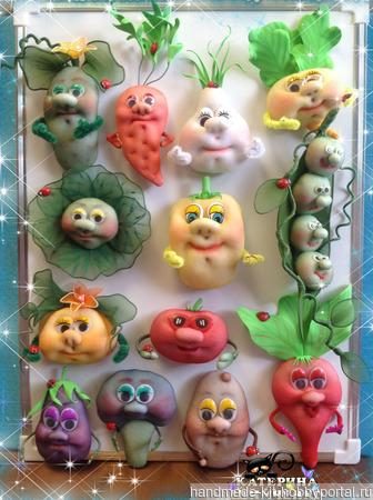 Магнит на холодильник Картофель ручной работы на заказ