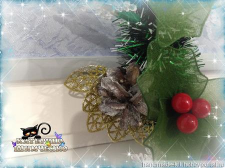 Рождественский венок ручной работы на заказ