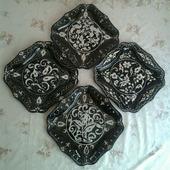 Набор декоративных тарелок - ручная работа
