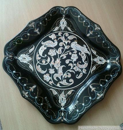 Набор декоративных тарелок - ручная работа ручной работы на заказ
