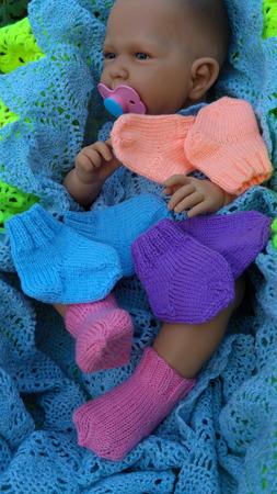 Носочки детские в роддом ручной работы на заказ