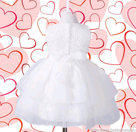"""Платье для девочки """"Julia"""" ручной работы на заказ"""