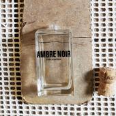 Бутылочка флакон для диффузора от парфюма AMBRE NOIR