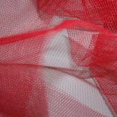 Фатин мягкий цвет красный