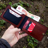 Бумажник-портмоне для автодокументов, денег, карт