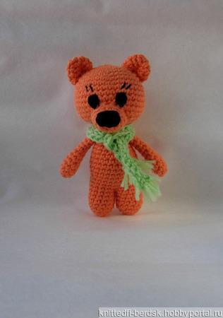 Маленький медвежонок ручной работы на заказ