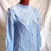 Ангоровый свитер - платье ручной вязки в Москве