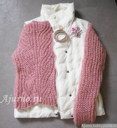 МК Вязаный женский свитер ручной работы на заказ