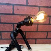 Лампа Loft/Steampunk «Доберман»
